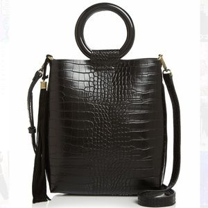NWT▪️ Street Level Croc Embossed Tote